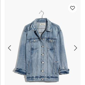 Madewell Oversized jean jacket - Junction Wash